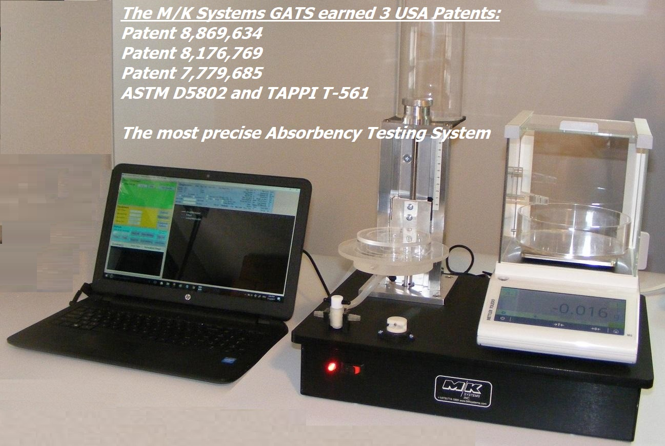 MK GATS ASTM D5802 and TAPPI T561